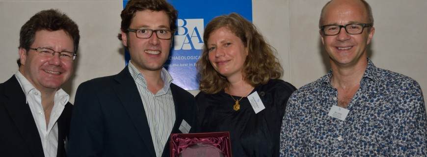 BEST PUBLIC PRESENTATION OF ARCHAEOLOGY 2014 – New Secrets of the Terracotta Warriors, Lion Television and MediaLab for Channel 4